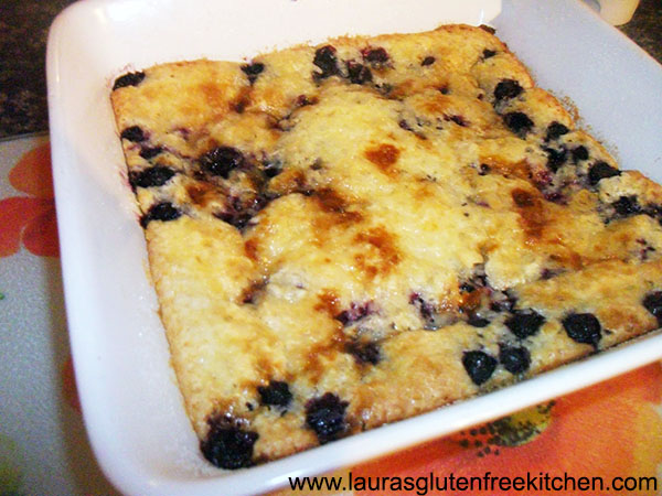 Old Fashioned Blueberry Gobbler