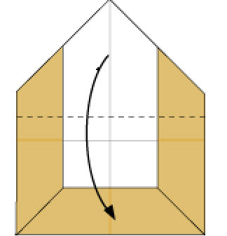 Step 6: Fold in the dotted line