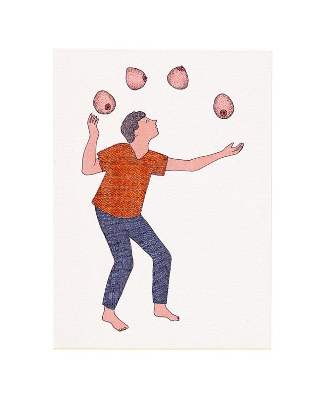 Les coquins, ilustración erótica humorística