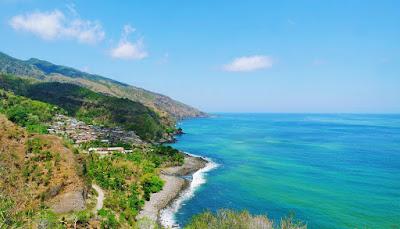 Ayo Melarikan Diri ke Pantai Terindah di Flores,Pantai terindah di Flores,Pantai Nanganesa