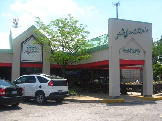 Meatless Monday: Aladdin's Eatery