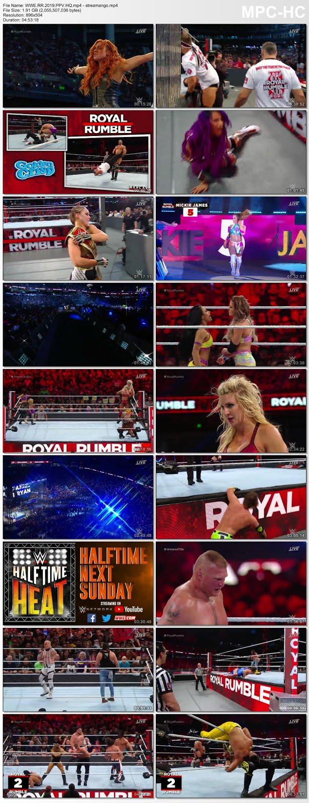 WWE Royal Rumble PPV 27 January 2019 720p HDTVRip x264 1.8GB Free Downlod