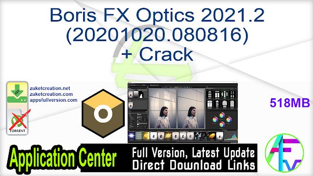 Boris FX Optics 2021.2 (20201020.080816) + Crack