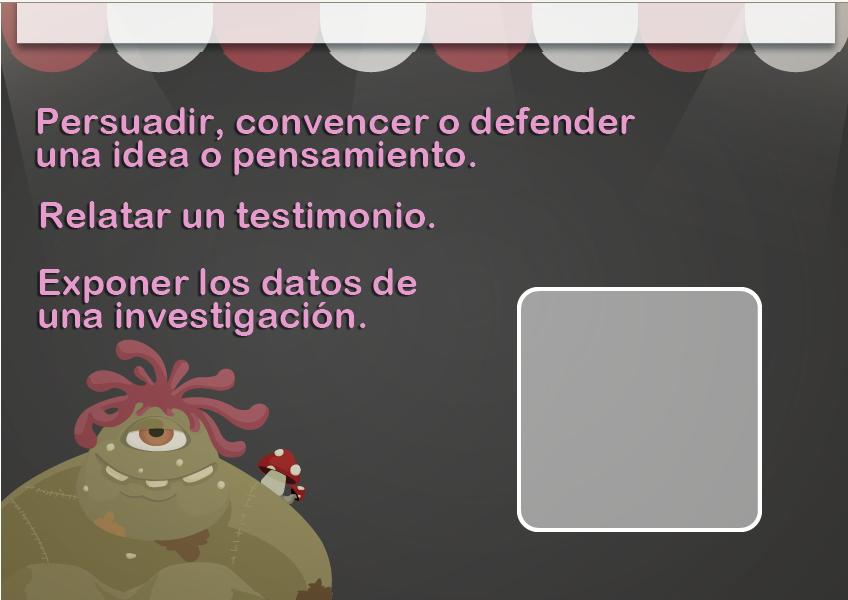 http://www.mundoprimaria.com/juegos/lenguaje/comprension-lectora/6-primaria/215-juego-tipologias-textuales/index.php