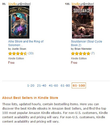 Souldancer Amazon top 100 free