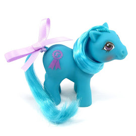 My Little Pony Baby Blue Ribbon Year Five Special Release G1 Pony