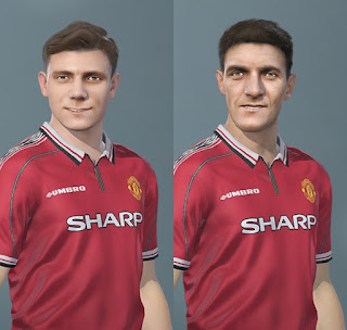 PES 2020 Facepack Duncan Edwards & Bill Foulkes by Caste