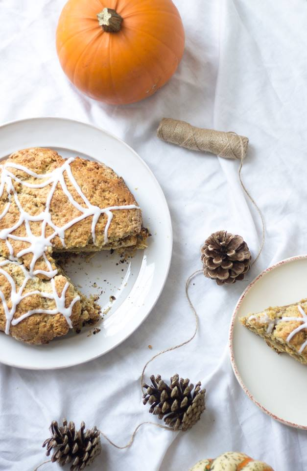Bettys British Halloween Pumpkin Spiced Norfolk Scone
