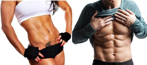 Es posible definir tus músculos al mismo tiempo que quemas grasa