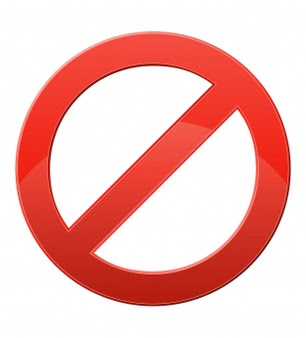 prohibiciones en lugares