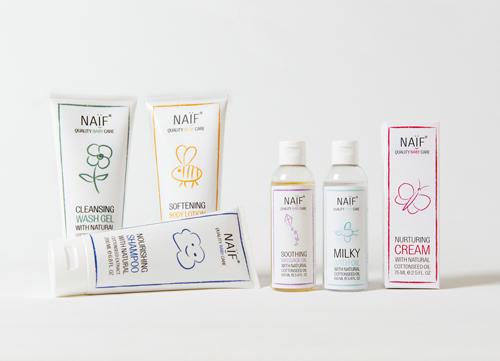 NaifCare baby products creme bebe