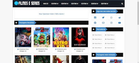 Filmes e Series Blogger Template Responsive