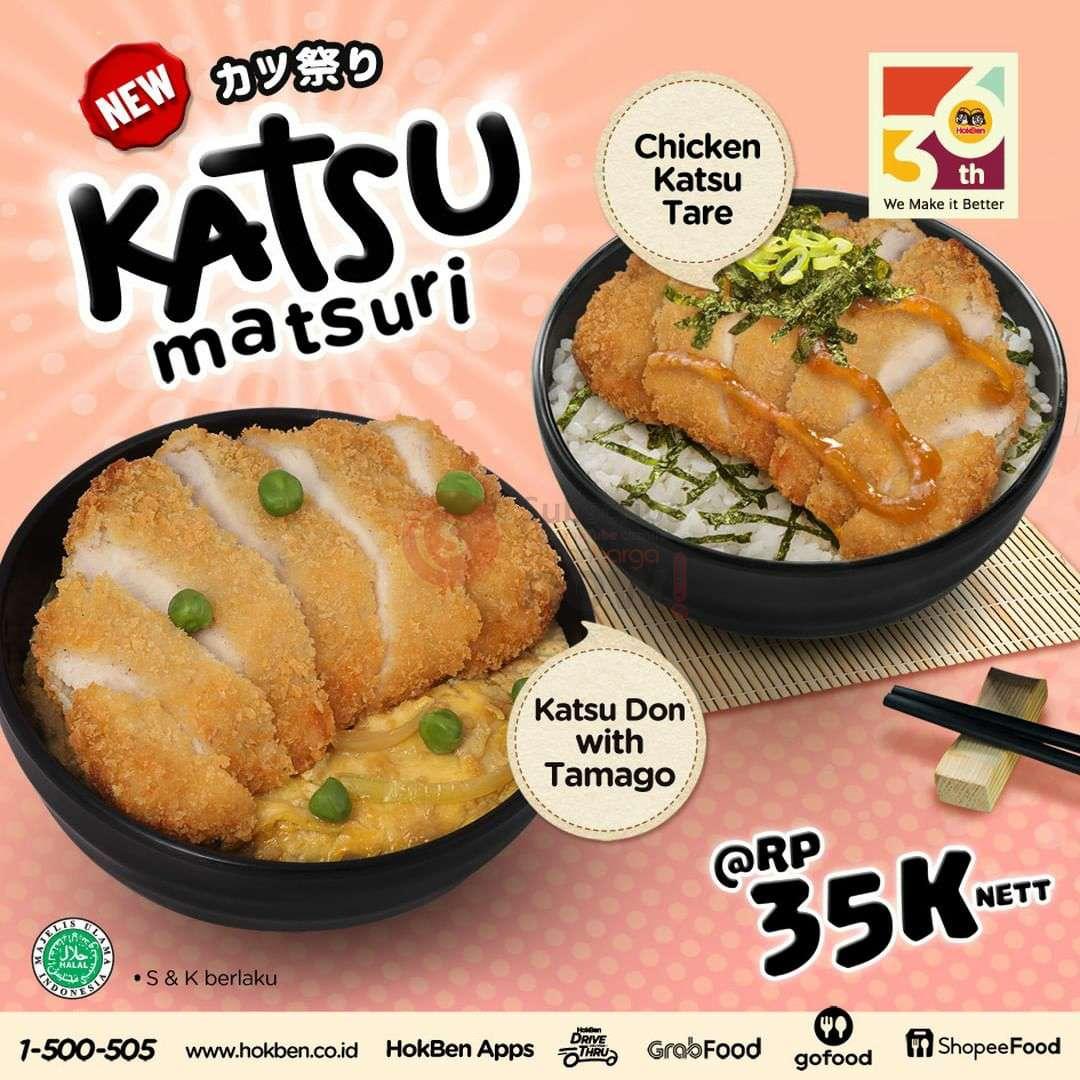 Hokben Promo Katsu Matsuri Harga Cuma Rp. 35.000