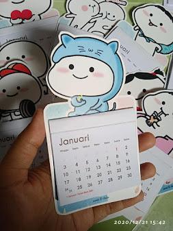 Kalender Magnet 2021
