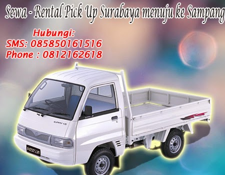 Sewa-Rental Pick Up Surabaya Menuju Sampang