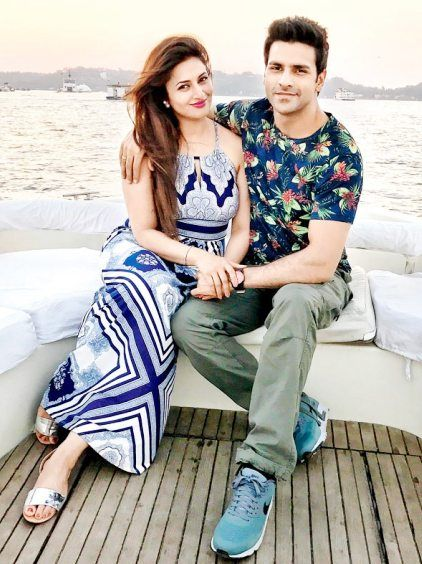 Divyanka with her husband Vivek Dahiya