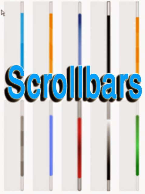 css scrollbar style