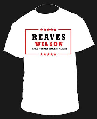 Reaves Wilson Hockey Violent