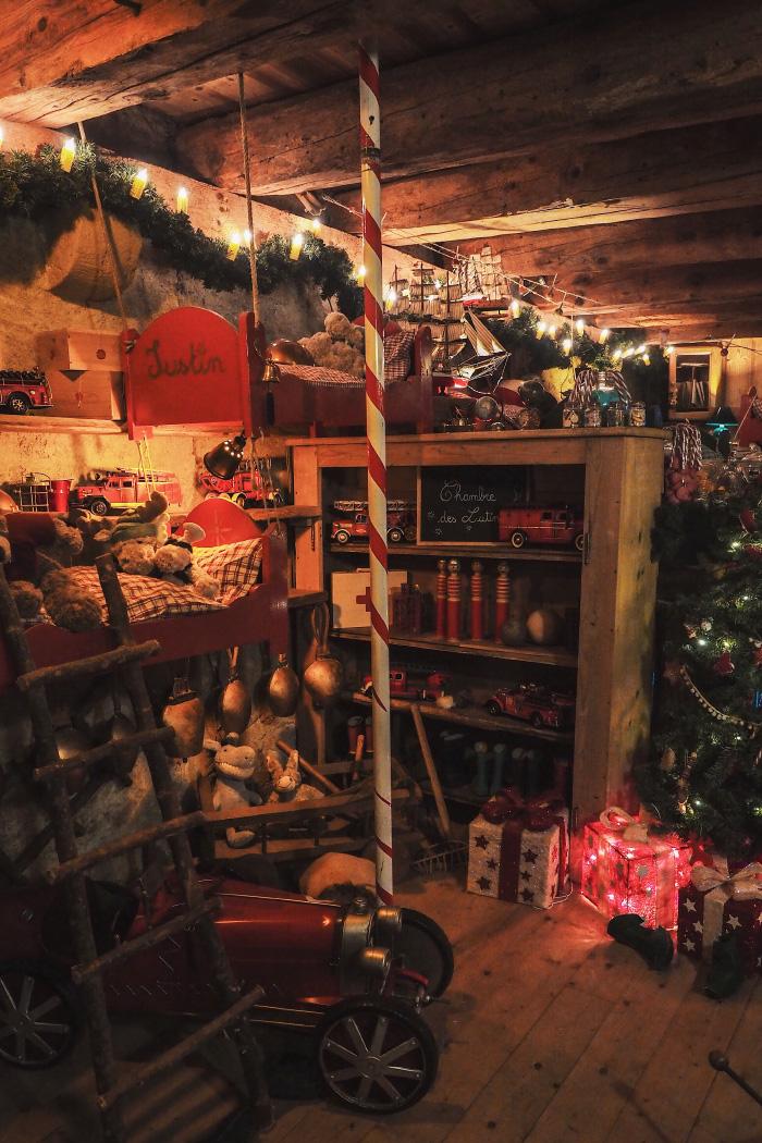Maison du Père Noël au hameau du Père Noël en Haute-Savoie