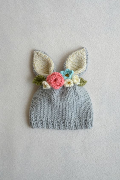 happy easter bonnet lapin crochet