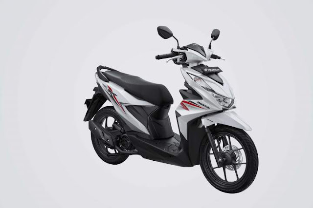 All New Honda BeAT 2020 Warna Sporty White