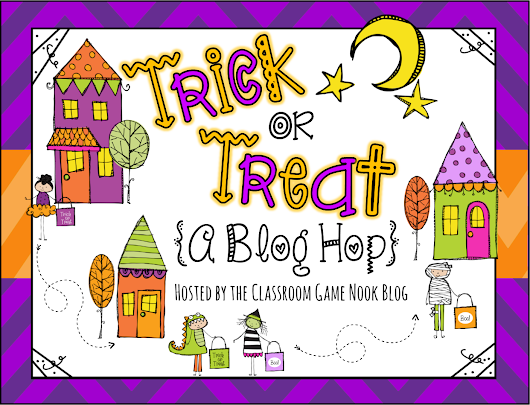 Trick or Treat {A Fun Blog HOP!}