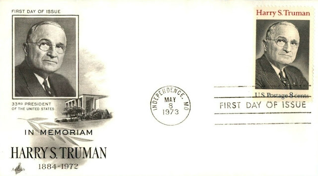 Harry S Truman 33rd President First Day Cover