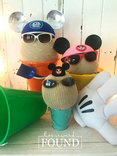 art, art class, beach style, color, coastal style, diy decorating, DIY, Disneyland, just for fun, re-purposing, summer, sweaters, Sweet Sweater Sandbabies, Sweet Sweater Pumpkins, thrifted, sweater crafts, summer home decor, diy home decor, Disney home decor