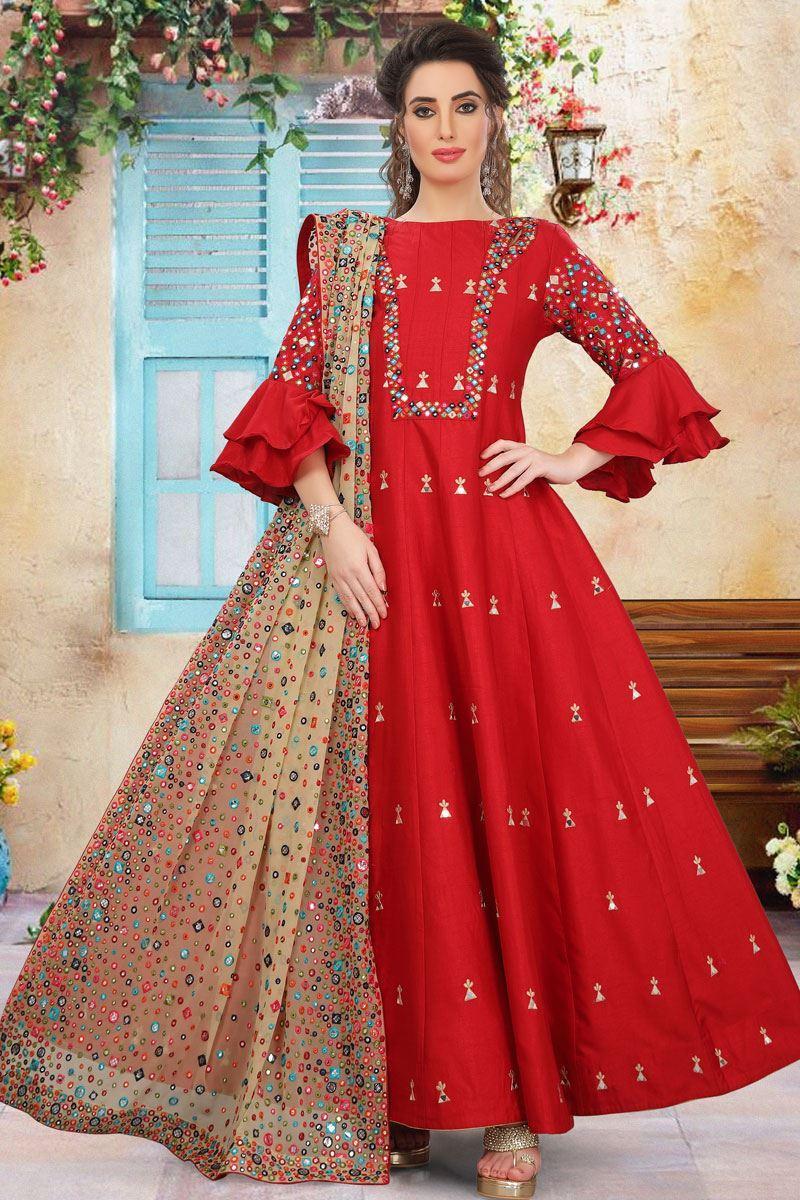 Evergreen Anarkali Salwar Suit