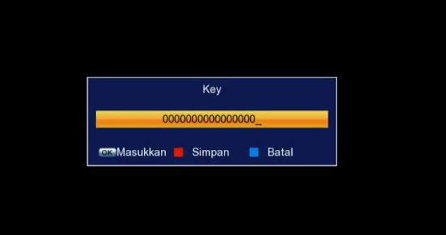 Cara Input Biss Key Receiver Tanaka