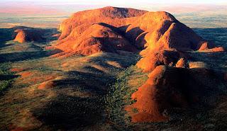 Geologist of Uluru