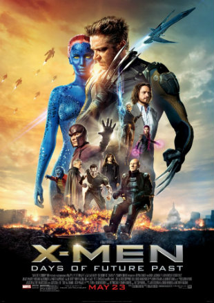 X-Men: Days of Future Past 2014 BRRip 720p In Hindi English