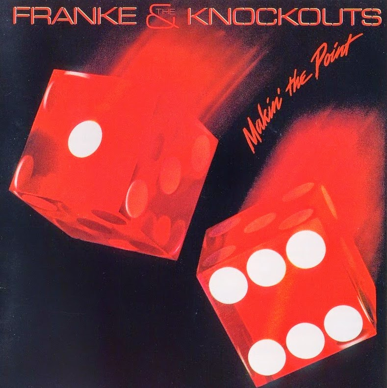Franke and The Knockouts Making the point 1984 aor melodic rock