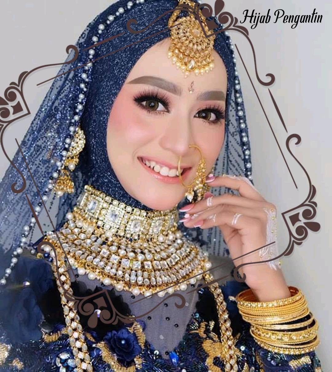 model hijab pengantin terbaru 2021