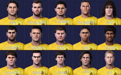 PES 2019 Legends Facepack from PES 2020