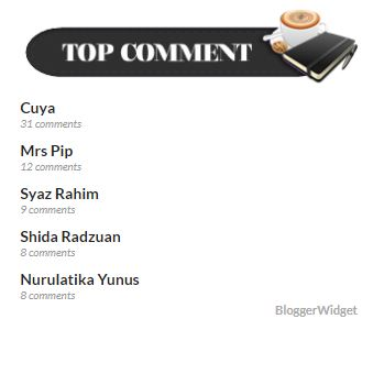top pengomen blog