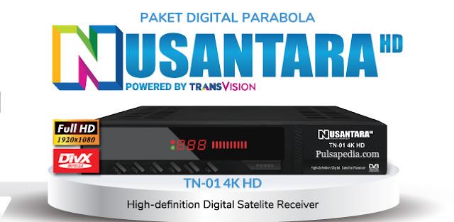 Harga dan Cara Beli Paket Nusantara HD