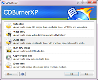 CDBurnerXP: A Best Burning Tool App CDs DVDs, Blu-Rays & ISOs [Windows]