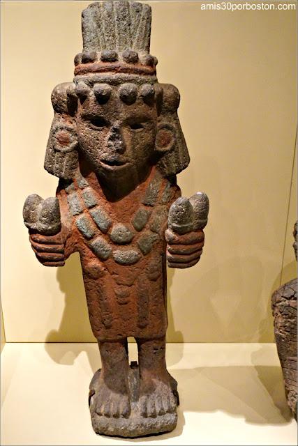 Mexica Chicomecoatl en el Museo Nacional de los Indios Americanos de NYC