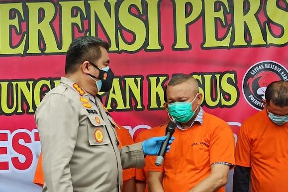 Polrestabes Medan tetapkan dua tersangka kasus KTV sediakan ekstasi