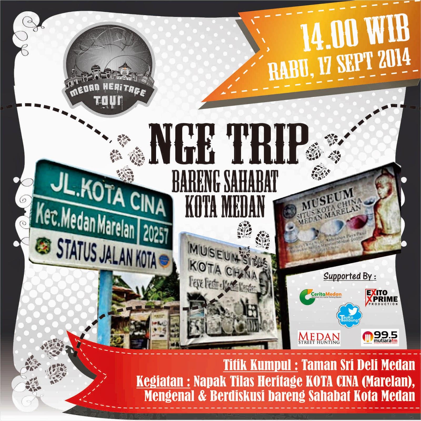 Wisata Situs Kota Cinta Bareng Sahabat Kota Medan