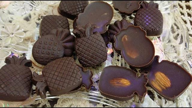 طريقة عمل الشيكولاتة باللوز الصلبة في المنزل الشيف محمد الدخميسي