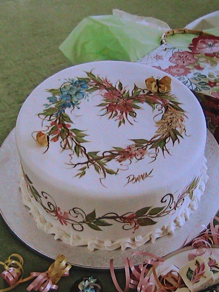 Donna Dewberry Here Are Some More Of My Cake Painting