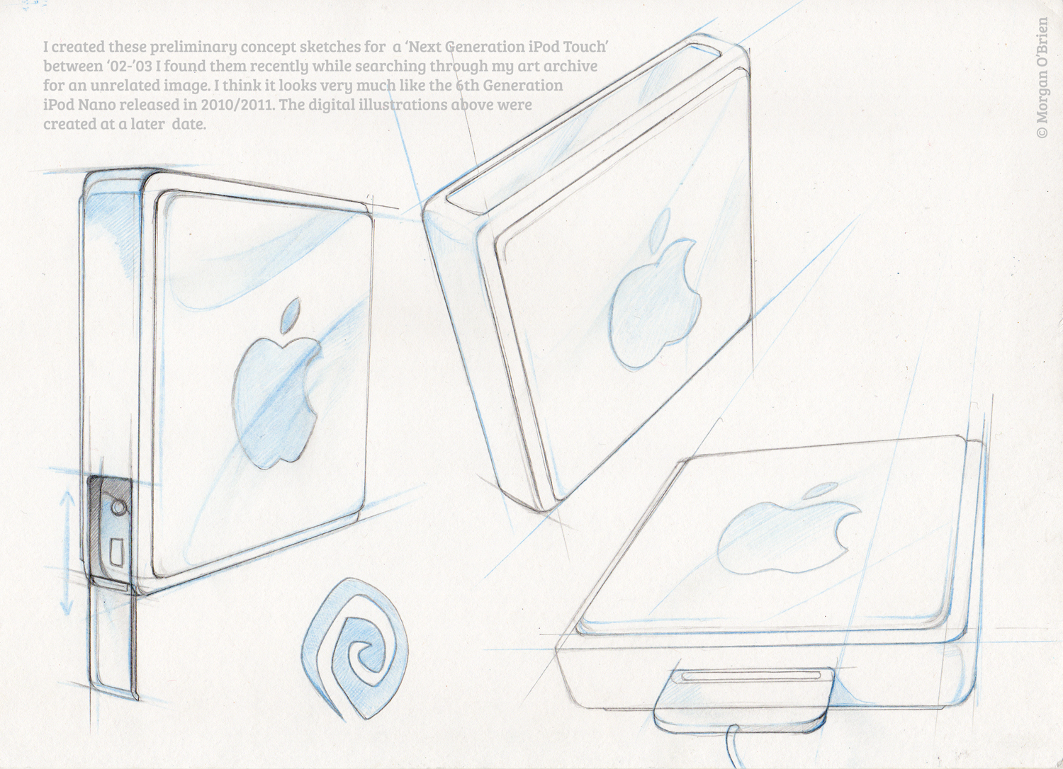 iPod Touch concept from 2002