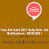 20-04-2021 -  Bihar Police Forest Guard Result, GIC Officer Scale I Admit Card, Madras High Court Recruitment