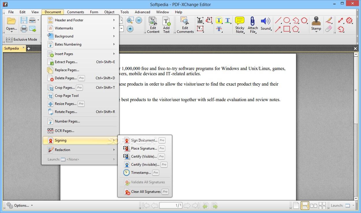 تحميل برنامج  PDF-XChange PRO 8.0.338.0 محرر PDF كامل