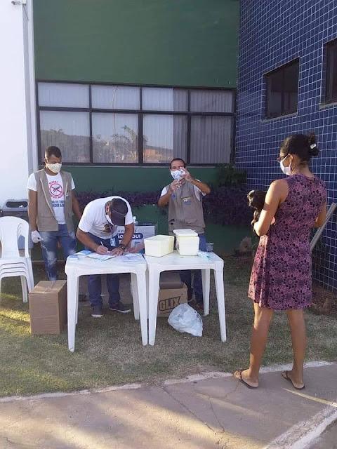 Campanha de vacinação antirrábica em Barreiras
