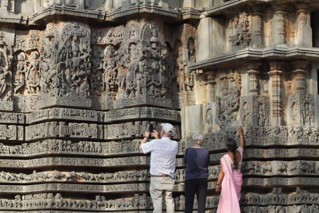 Hoysaleswara Temple, Halebid - photographic wonder everywhere