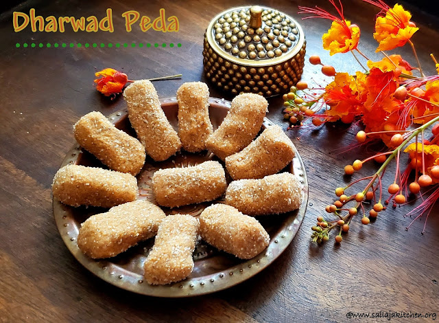 images of Dharwad Peda / Dharwad Pedha / How to make Dharwad Peda