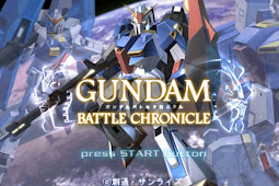Gundam Battle Chronicle + Save Game Complete PPSSPP